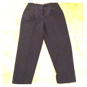 Talbots petites 12p worsted all season wool pants